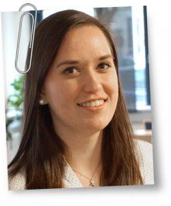 Auszubildende Verena Schilling
